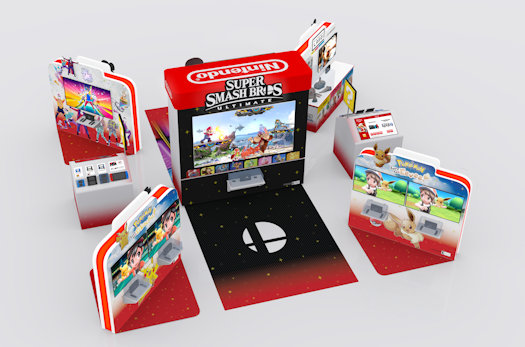 Take Holiday Shopping to the Next Level at the Nintendo Switch Holiday Experience