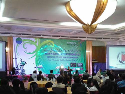 Halal Bihalal IP2B di Hotel Grand Pasundan
