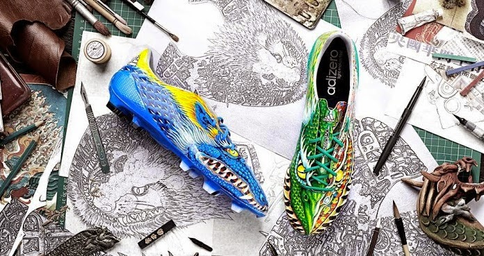 Bale, Marcelo y James estrenan las entrañables botas del Dragón (3)