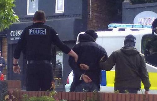 Manchester Terror arrested 1