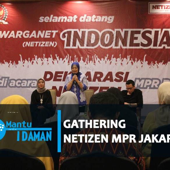 Malam Perumusan Naskah Deklarasi Warganet (Netizen) MPR