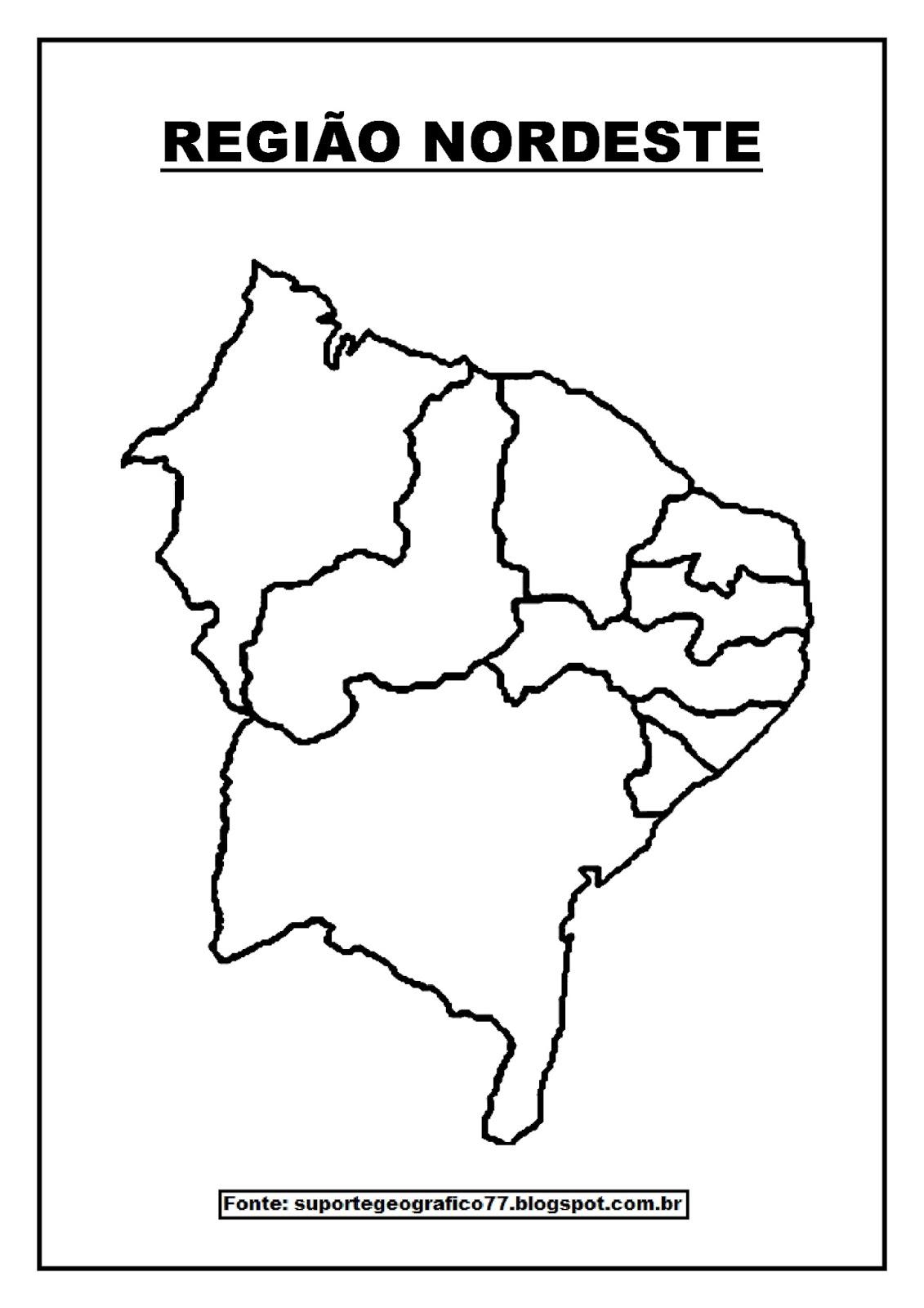 mapas para colorir sobre as regiÕes brasileiras suporte geográfico