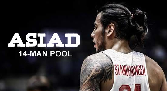 LIST: 14-man Gilas Pilipinas pool 2018 Asiad