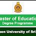 Master of Education Degree Programme - இலங்கை திறந்த பல்கலைக்கழகம்..!