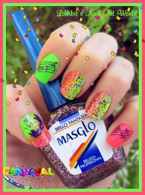 10 Ideas De Decoración Uñas Para Carnaval Con Masglo Blog