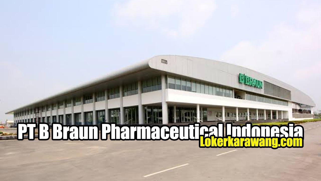 PT B Braun Pharmaceutical Indonesia Karawang