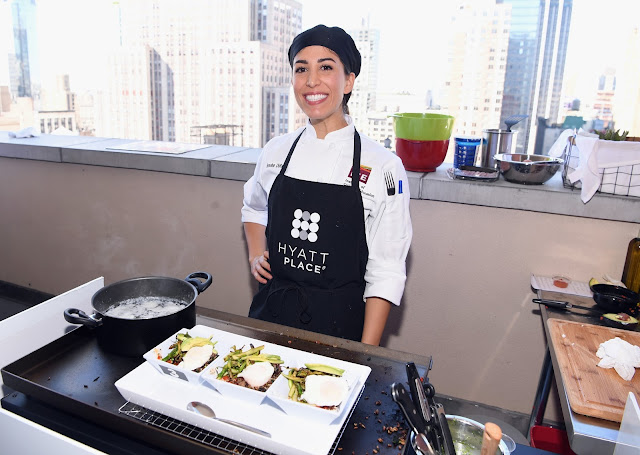 Culinary Student Brooke DiResta created the Nomad Bowl. It will be on Hyatt Menu in 2018