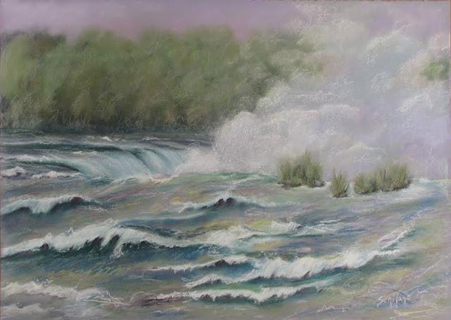Kath Schifano, rapids, horseshoe falls, Niagara