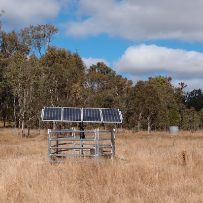 eight acres: our solar bore pump project