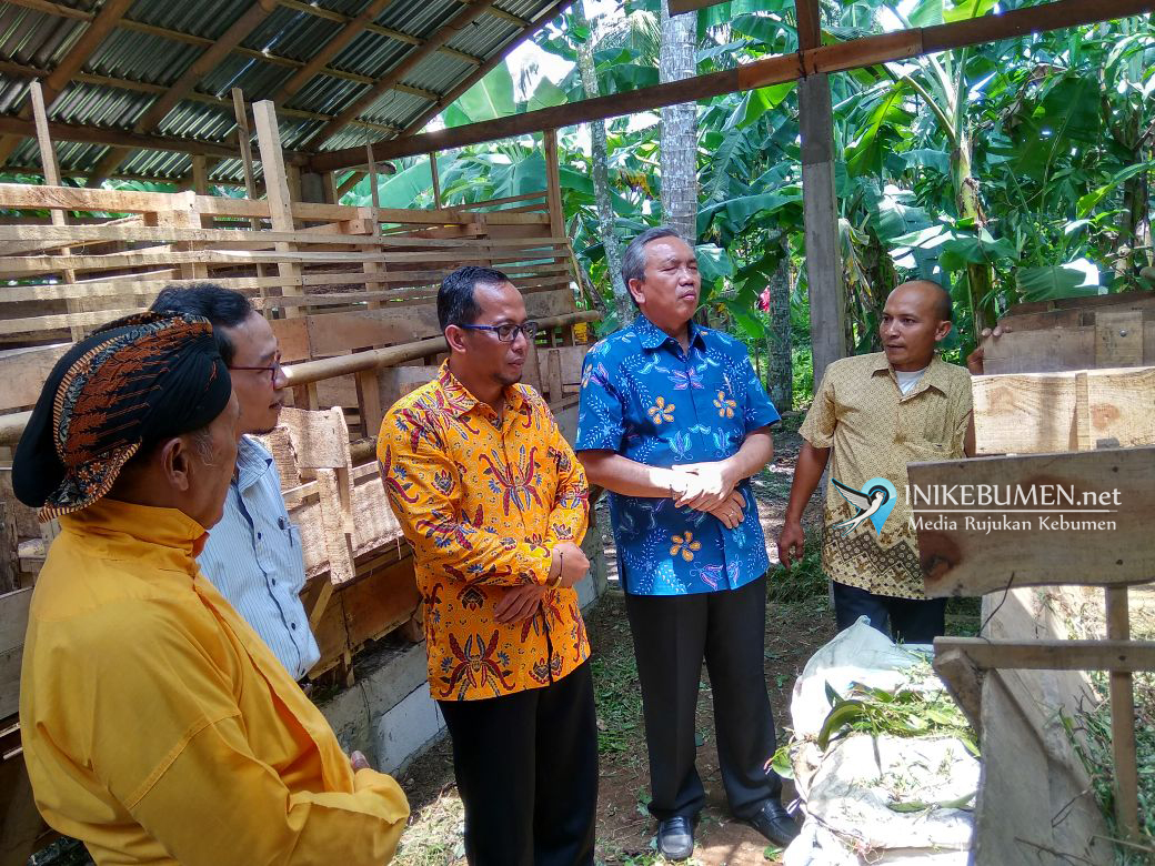 Kunker Anggota DPD Bambang Sadono, Pembudidaya Ikan Bonorowo Kecewa Pejabat Kebumen Tak Hadir