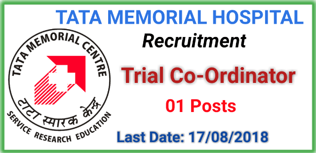 trial-co-ordinator-job-at-tata-memorial-hospital