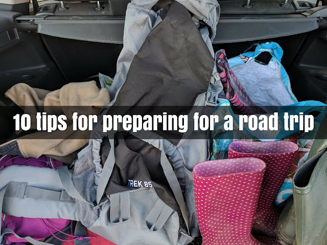 10 tips preparing road trip
