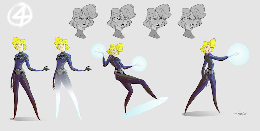 Sue Storm aka Invisible Woman