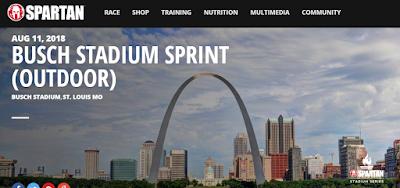 Spartan Busch Stadium Sprint