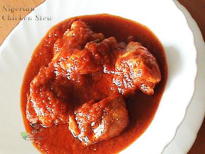 How to cook Nigerian Chicken Stew, Nigerian Chicken Stew