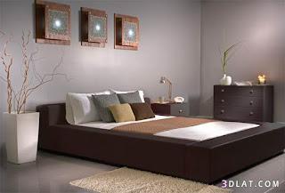 غرف نوم مودرن , صور ديكورات غرف نوم حديثة , تصميمات غرف نوم جديد 2017