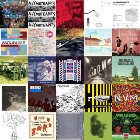 BAGeL Radio : indie rock noise pop internet radio: Top Music By Year