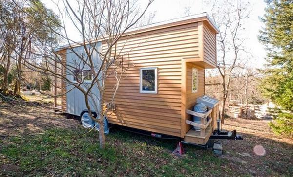 Độc đáo nhà gỗ di động đầy đủ tiện nghi khiến nhiều người mơ ước