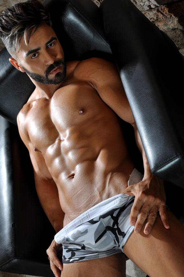 Anaylson Martins, Mister Pará Model 2017. Foto: Tadeu Loppara