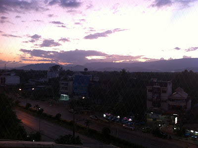 View over Phetchabun seen from Burapa Hotel