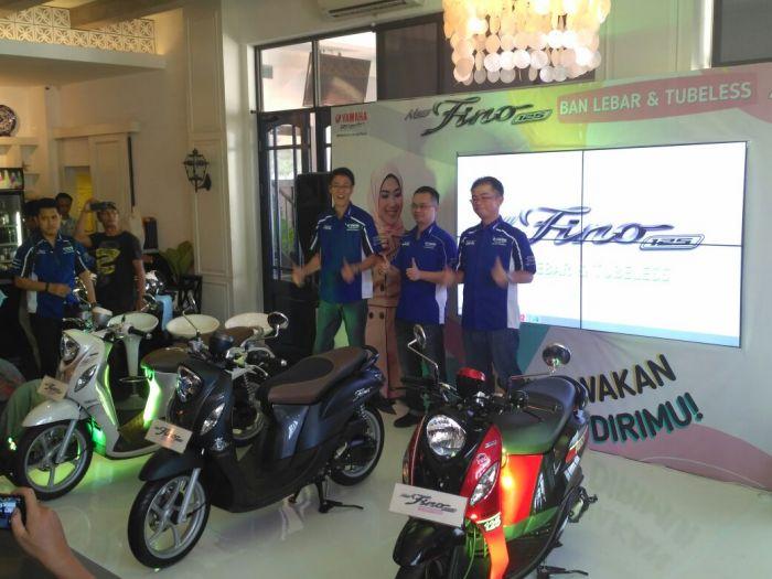Harga Yamaha Fino 125 Pakai Ban Lebar