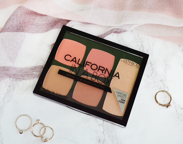 New Spring Products from Catrice (California in a Box Blush and Bronzer Palette and HD Liquid Coverage Concealer 010 Light Beige)