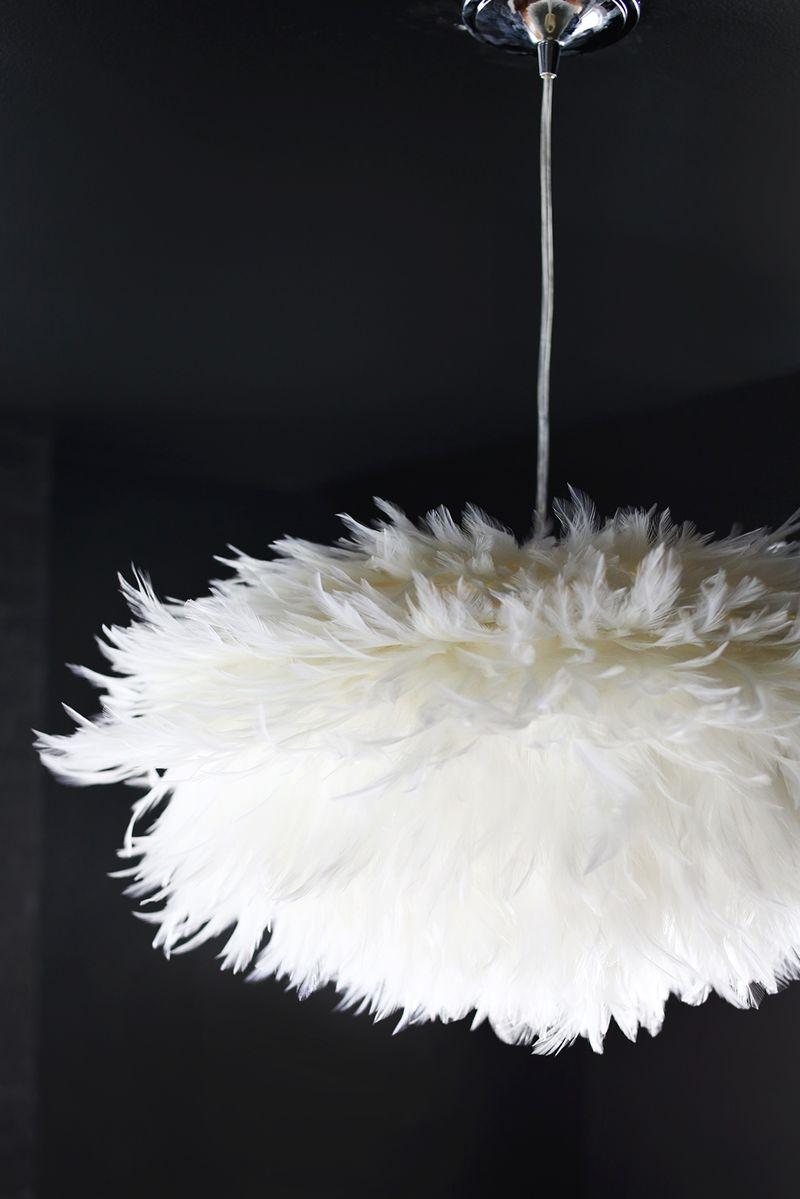 diy la suspension plume plume initiales gg. Black Bedroom Furniture Sets. Home Design Ideas