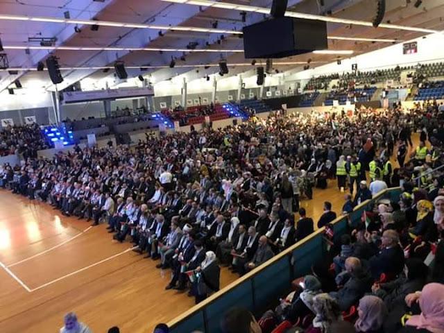 مؤتمر فلسطينيي أوروبا السابع عشر يختتم أعماله في العاصمة الدنماركية كوبنهاغن