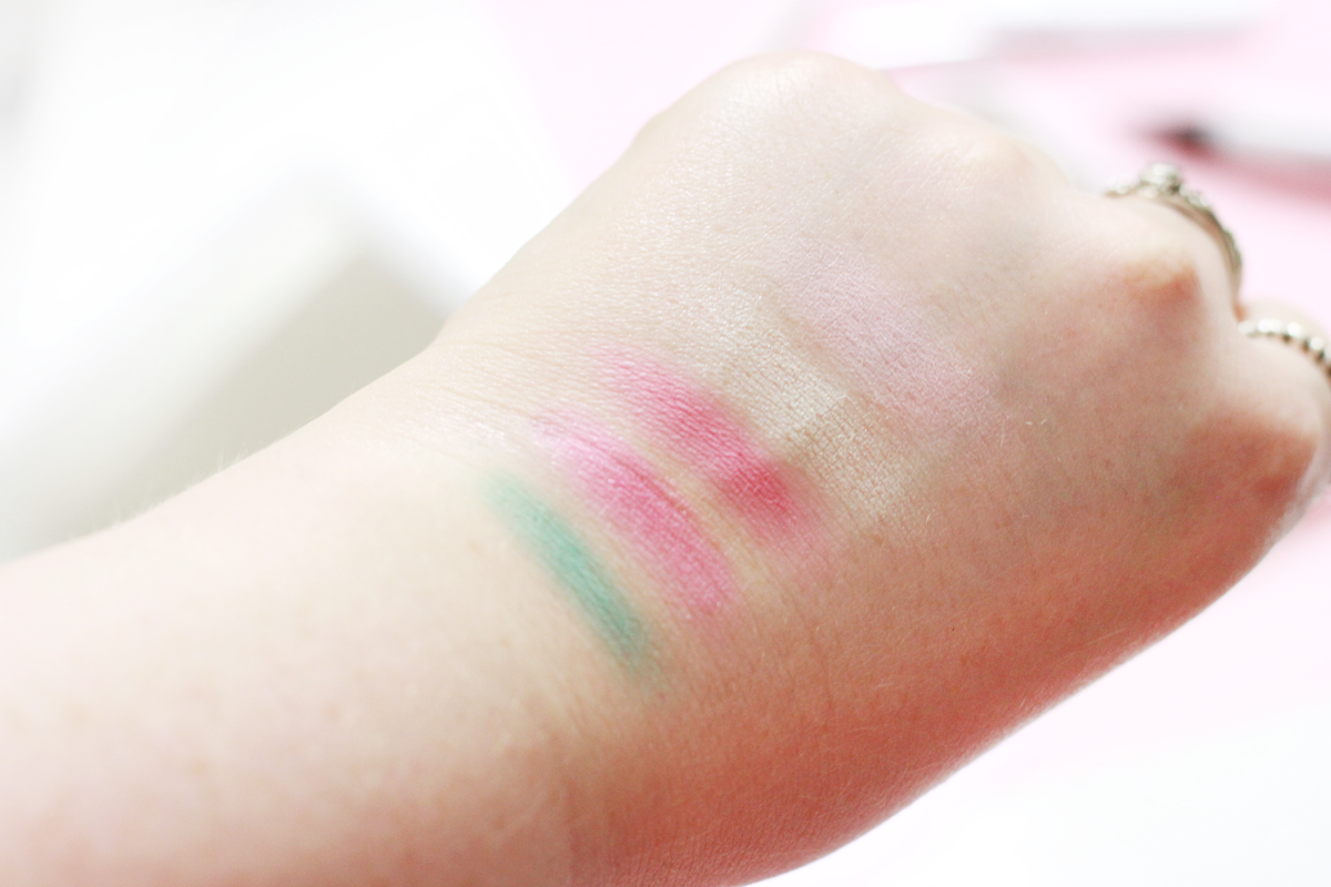 An image of Models Own Sweet Dreams Eyeshadow Swatches