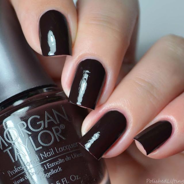 brown creme nail polish