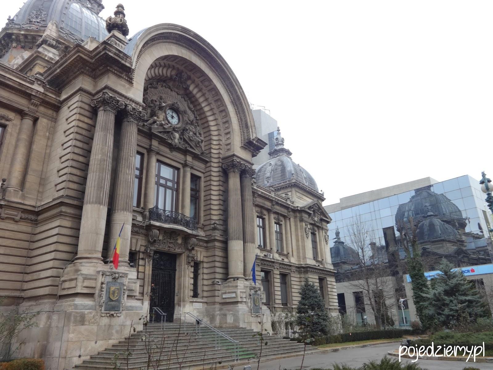 Co zobaczyć w Bukareszcie - Pałac CEC