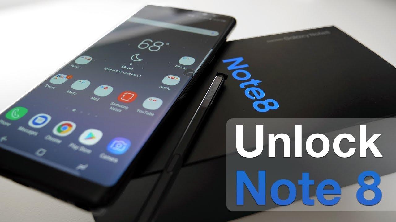 Unlock Samsung Galaxy NOTE 8 T-MOBILE network