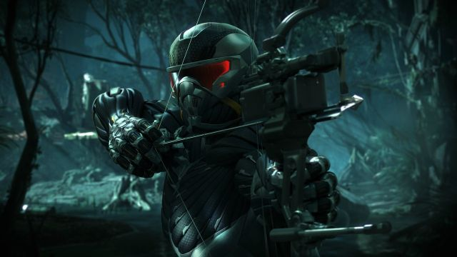Screen Shot Of Crysis 3 (2013) Full PC Game Free Download At worldfree4u.com