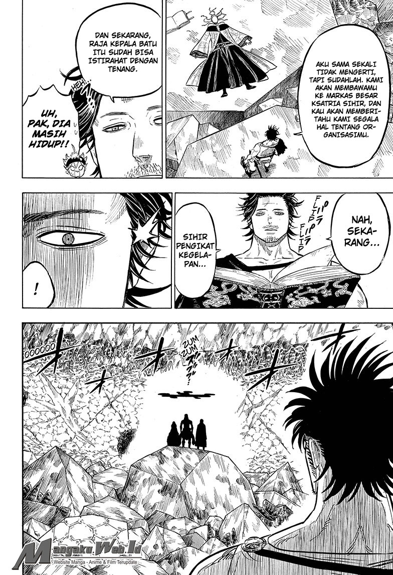 Black Clover Chapter 51 Tiga Mata