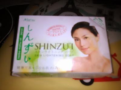 Shinzu'i Skin Lightening Soap Matsu Sabun