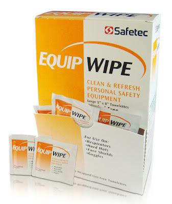 Safetec Equipment Wipes