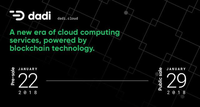 Dự án ICO DADI - Dịch vụ điện toán đám mây blockchain