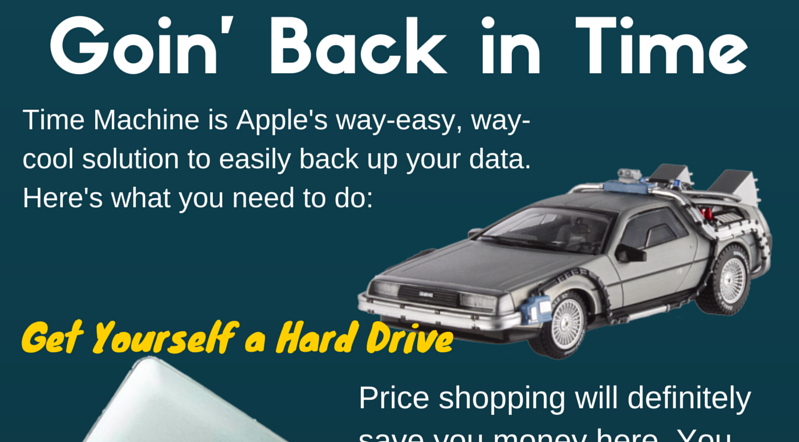 Apple Time Machine back up data MacBook edtech edtechteacher edtechchris.com