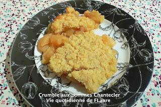 Vie quotidienne de FLaure: Crumble aux pommes Chantecler