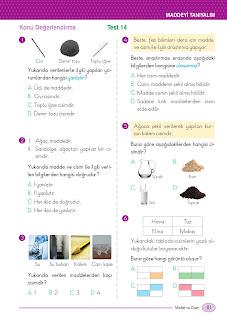 5. Sınıf Arapça Ders Kitabı Cevapları Mektep Sayfa 81