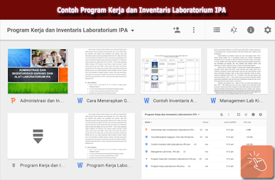 Program Kerja Laboratorium IPA SMP, SMA, SMK 2016/ 2017
