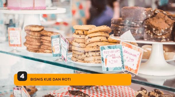 4. Bisnis Kue dan Roti