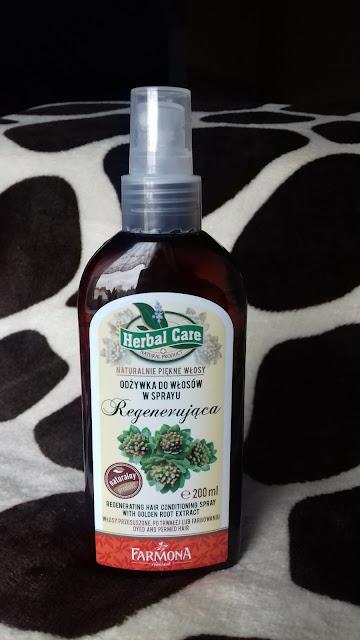Farmona Herbal Care regenerująca odżywka do włosów różeniec górski