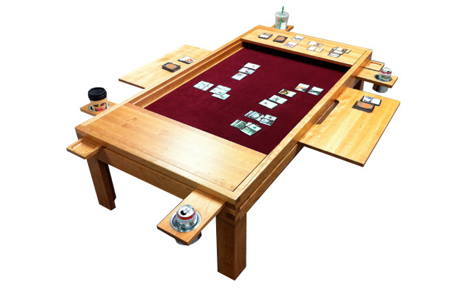 Game Table Coffee Question