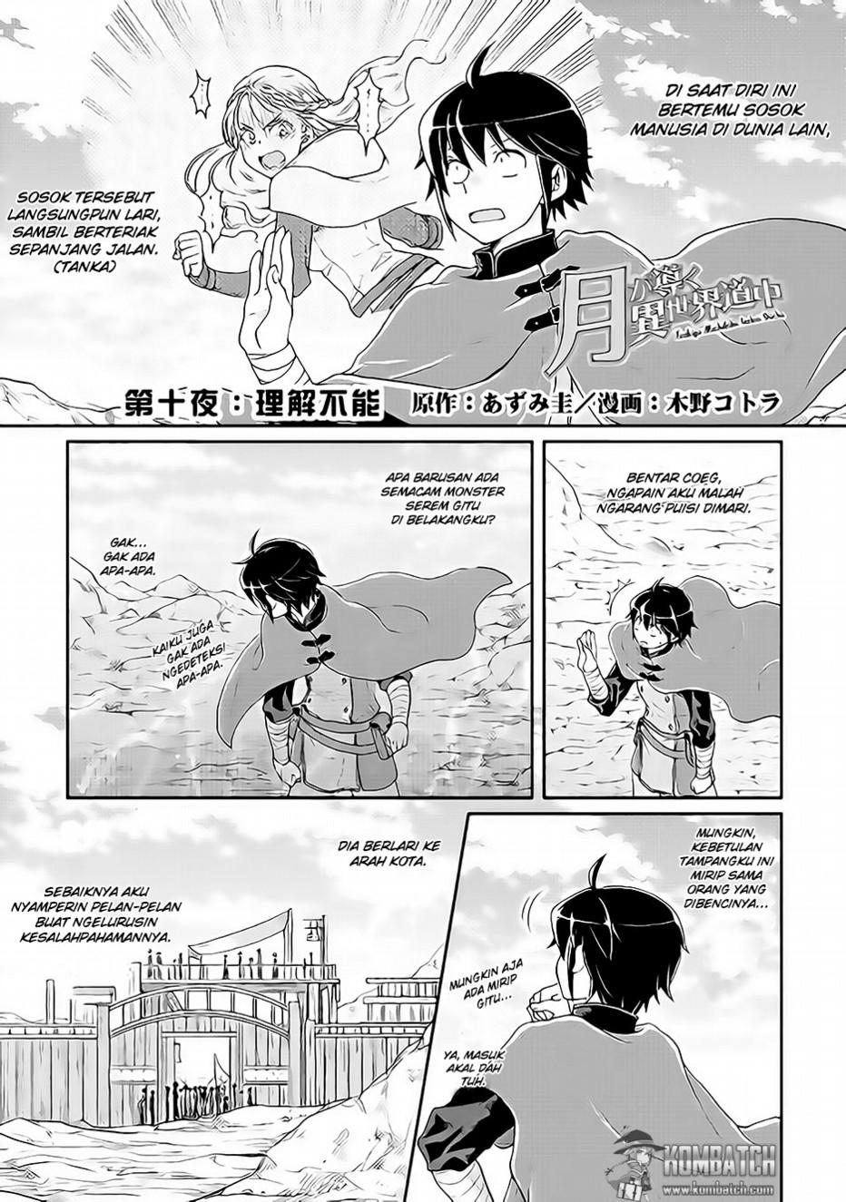 Baca Manga Tsuki ga michibiku isekai douchu Chapter 10 Bahasa Indonesia