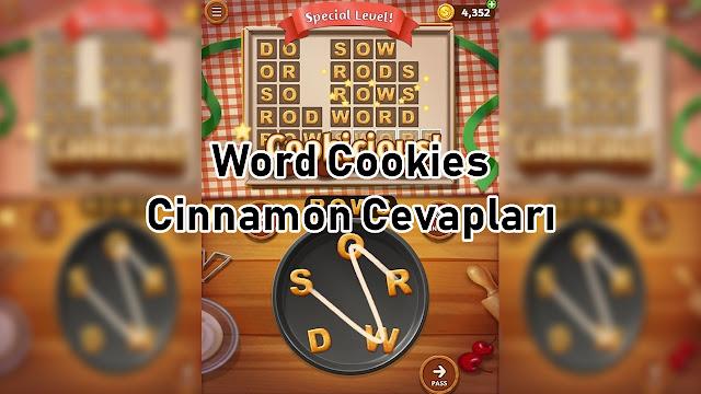 Word Cookies Cinnamon Cevaplari