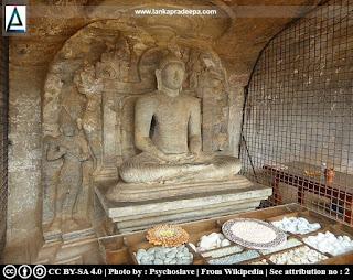 Meditating Buddha, Nisinna-patima Lena