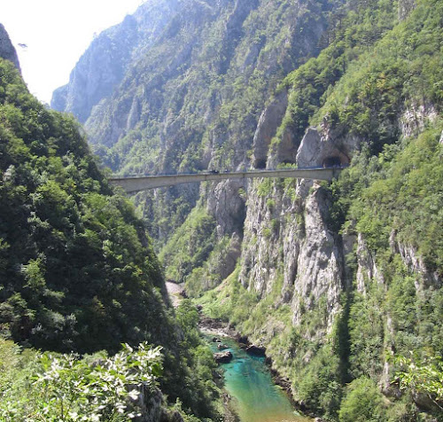 Piva River bridge