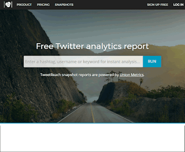TweetReach offers tools you can use to easily measure earned and organic conversation