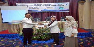 Hilda Murni Buka In House Training Pengujian